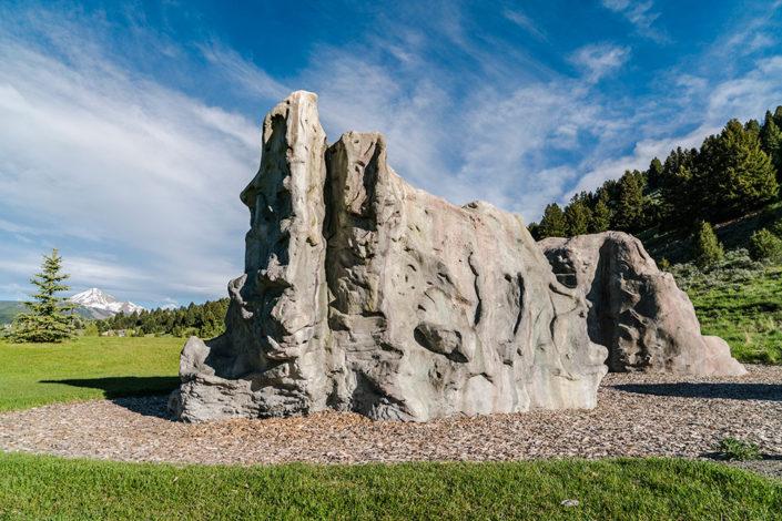 Big Sky Climbing Boulders