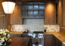Kitchen stove vent hood