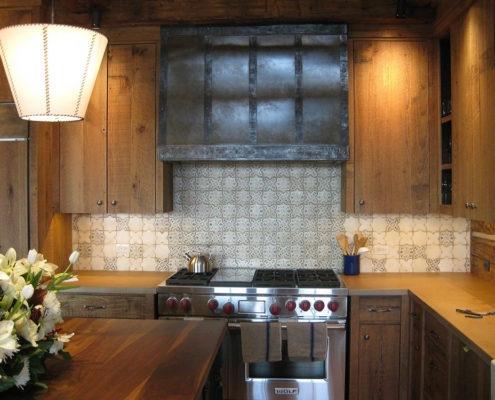 Kitchen stove vent hood