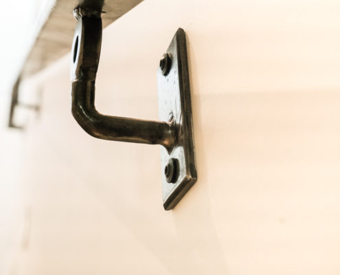 Bracket and handrail