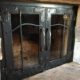 Fireplace doors