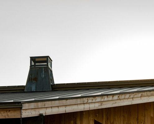 Steel chimney cap